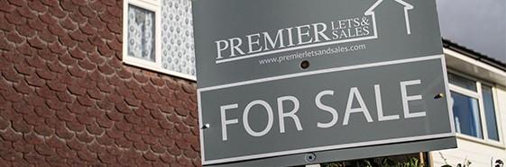 premier lets for sale sign
